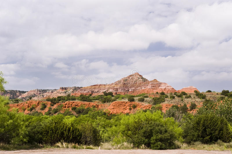 Download Clouds Over Palo Duro Canyon Stock Image - Image of rock, colorful: 13102511