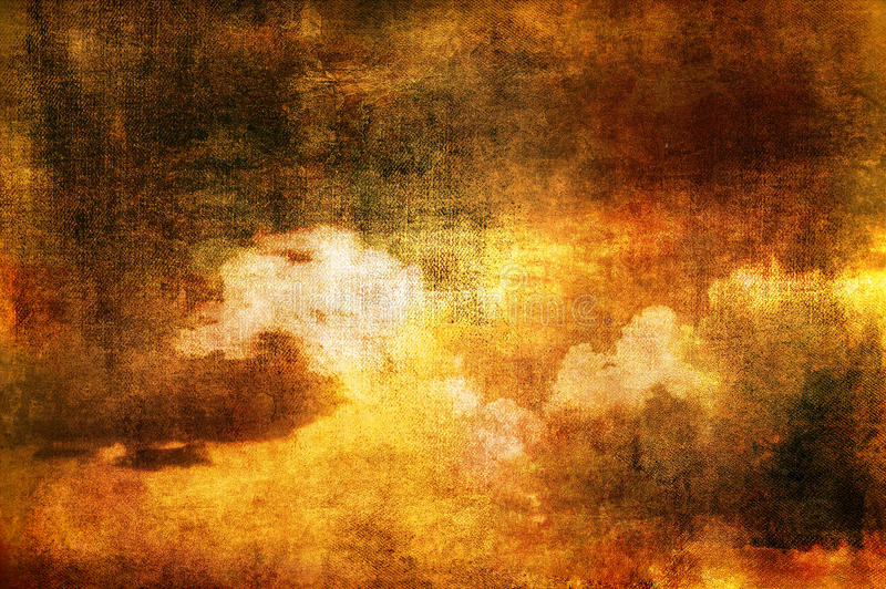 Download Clouds in sepia tones stock image. Image of design, spots - 19792055