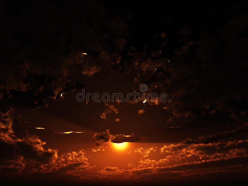 Download Clouds In The Sky Royalty Free Stock Photo - Image: 10550735