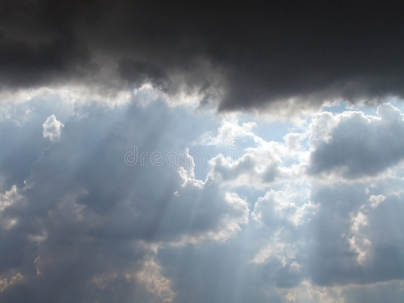 Download Clouds on the sky stock image. Image of skyscape, cumulus - 177111