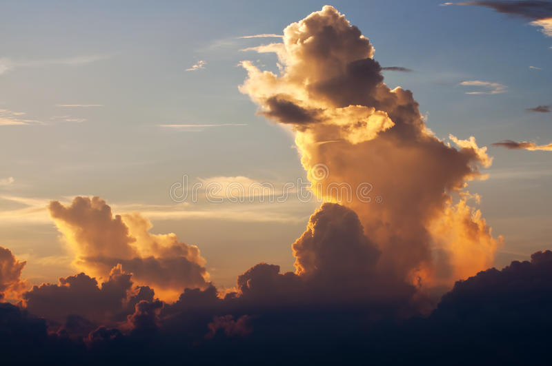 Download Clouds and sky stock photo. Image of cloudy, color, environment - 19878392