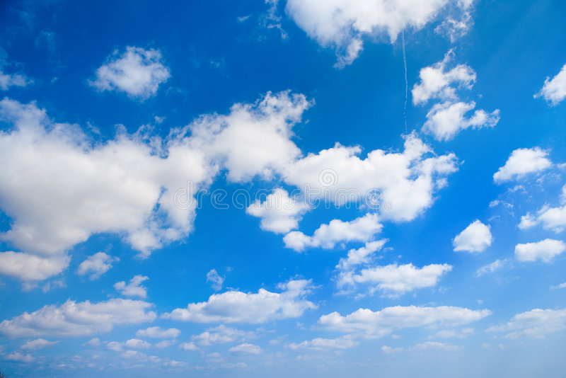 Download Clouds on sky stock photo. Image of blue, panoramic, distance - 2684388