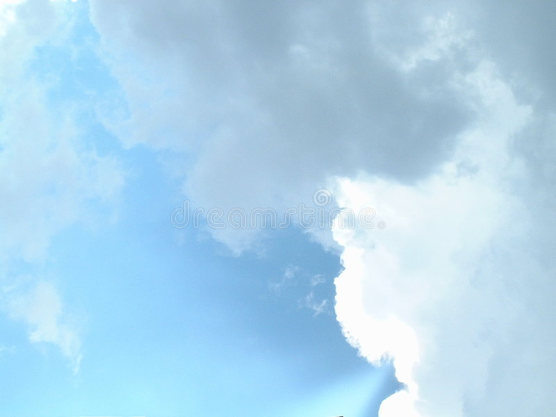 Download Clouds in the Sky stock image. Image of blue, white, rain - 27359