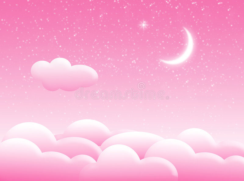 Download Clouds in the sky stock illustration. Image of night, nature - 2987541