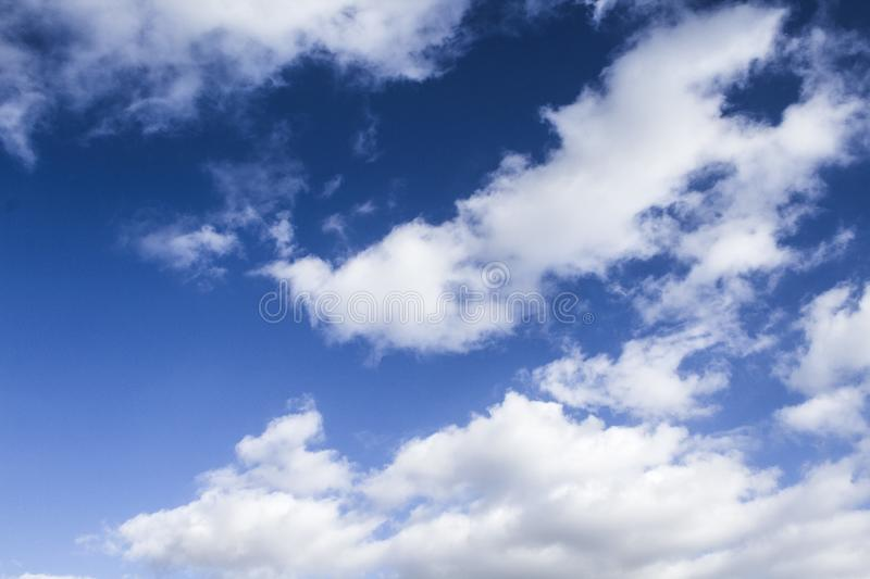 Clouds on sky - Stock image. Clouds on sky, natural  background - Stock image stock images
