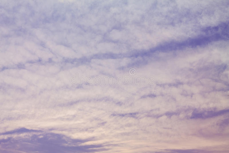 The clouds in the sky royalty free stock photos