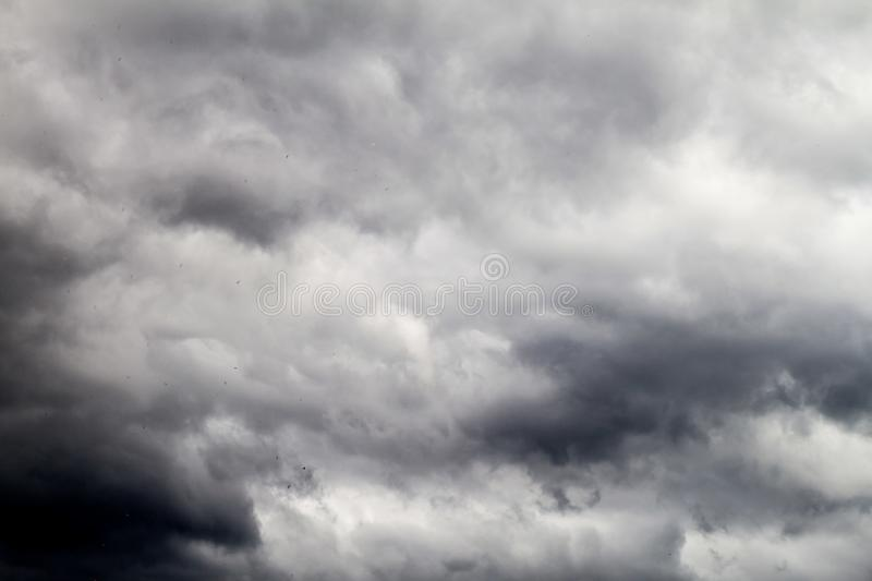 Clouds on a sky. View of clouds on a sky royalty free stock photography