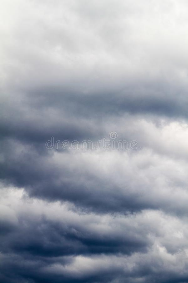Clouds on a sky. View of clouds on a sky stock photos