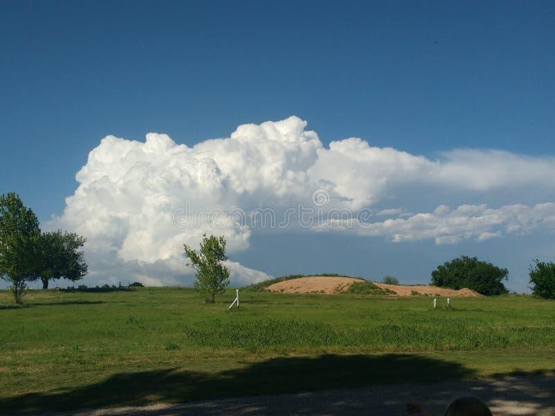Prestorm clouds stock photo