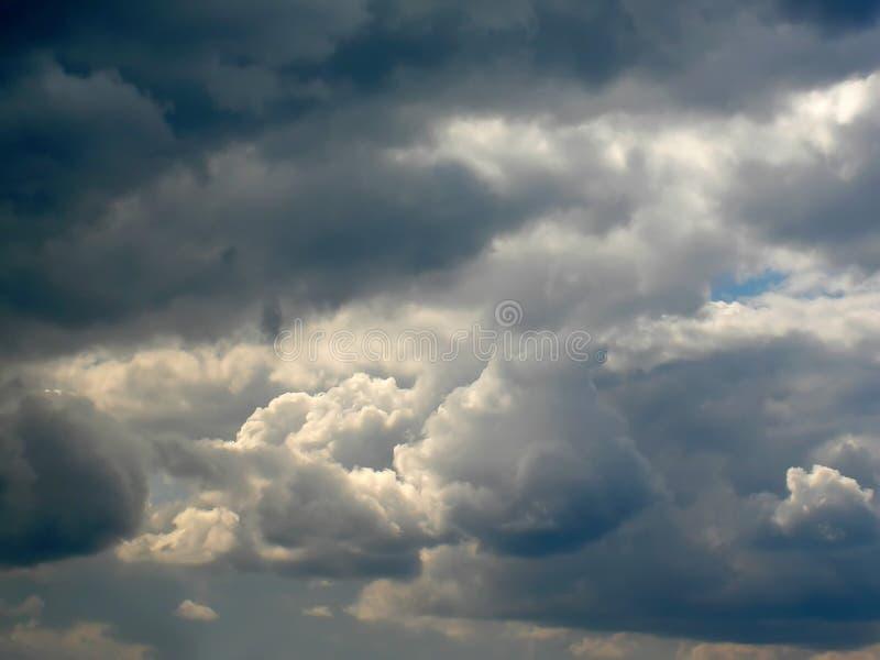 clouds stormigt royaltyfria foton