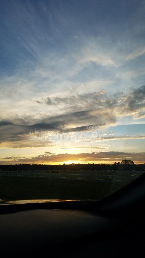 Clouds and Sun Rays. Rays, weathrr, weatjer, weather, sunset stock images