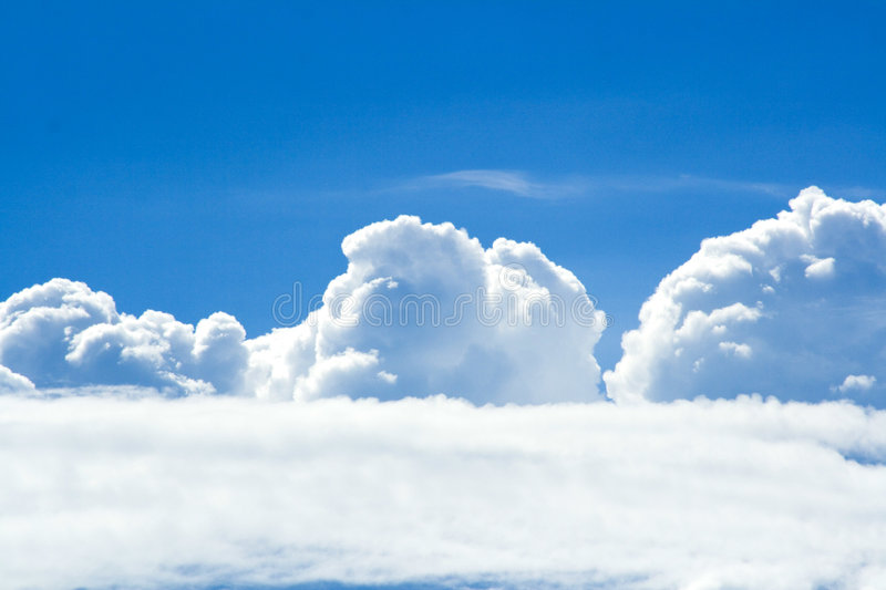 Clouds On A Sunny Day Royalty Free Stock Image