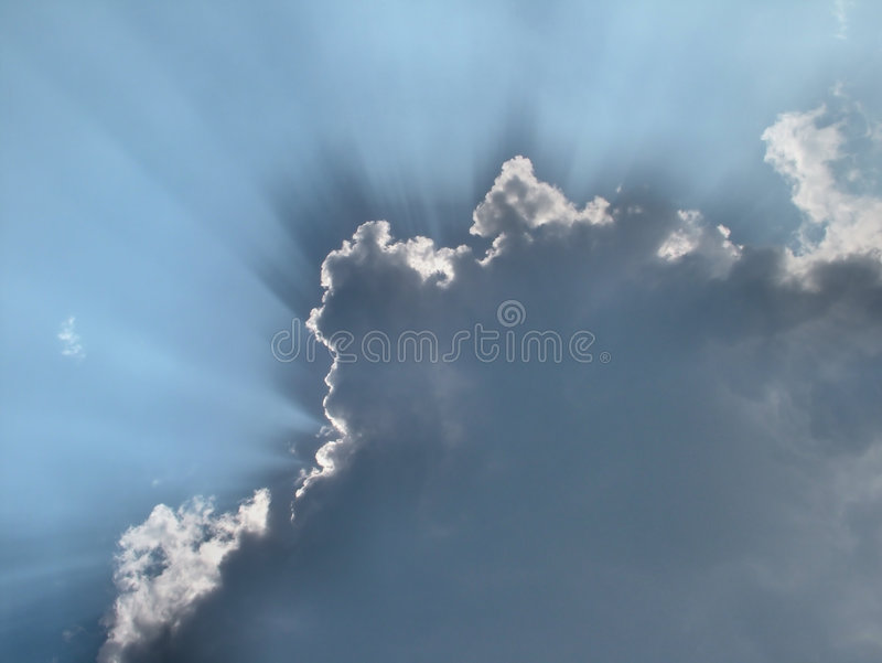 clouds tro royaltyfri bild