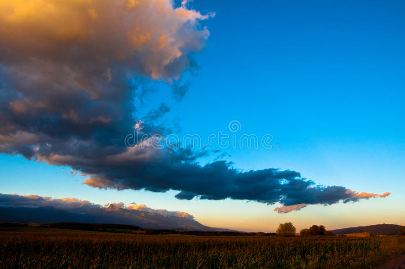 Download Clouds up country stock image. Image of blue, mountain - 34441433