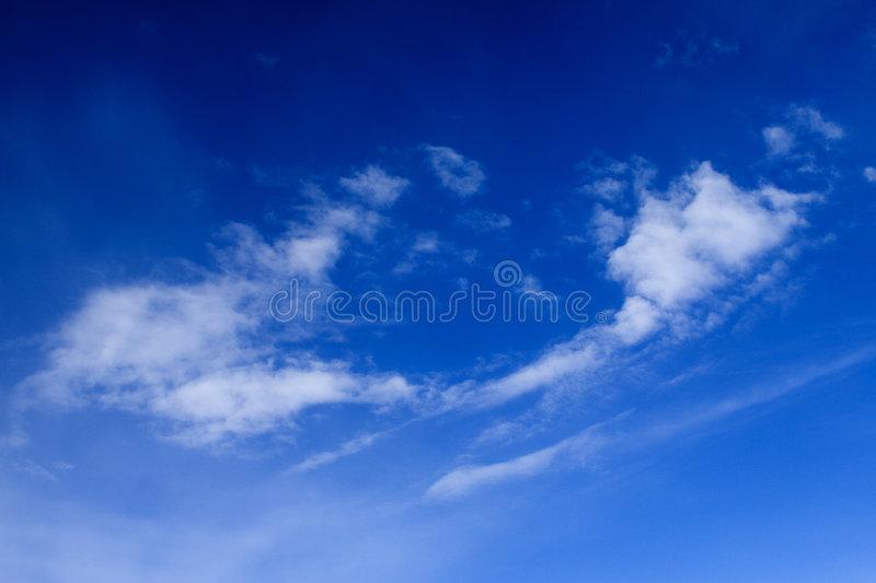 Clouds - View From Flight 42 Royalty Free Stock Images