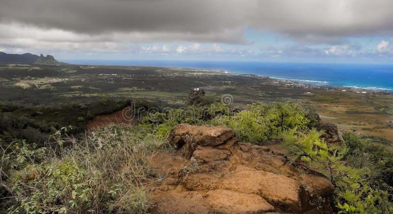 Cloudscape和风景 库存图片