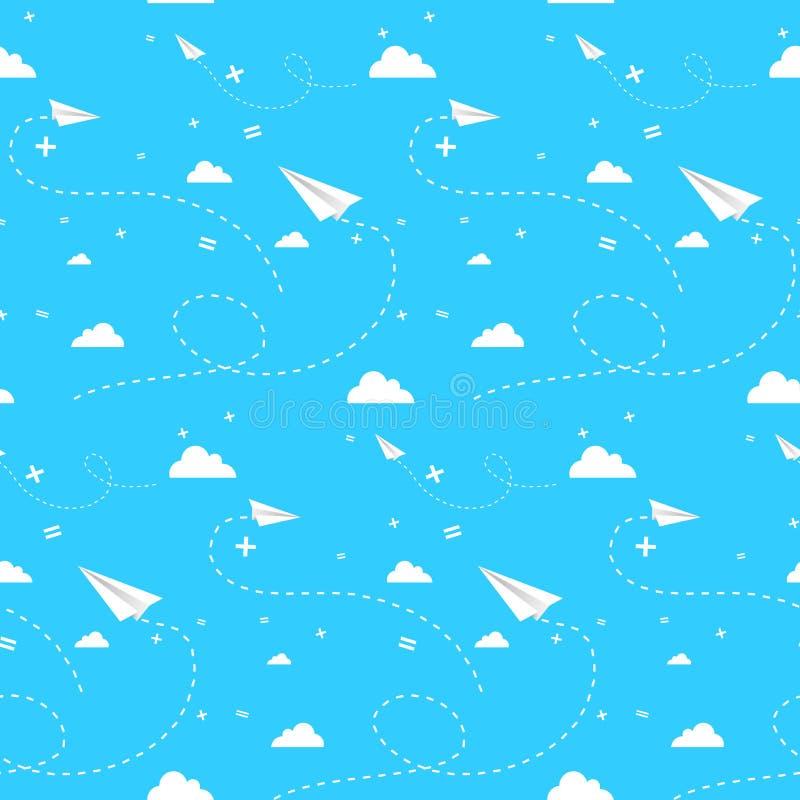 cloudscape άνευ ραφής απεικόνιση αποθεμάτων