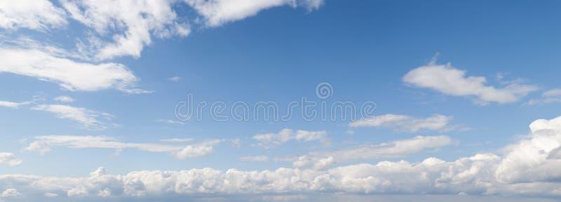 cloudscape πανοραμικός στοκ φωτογραφίες