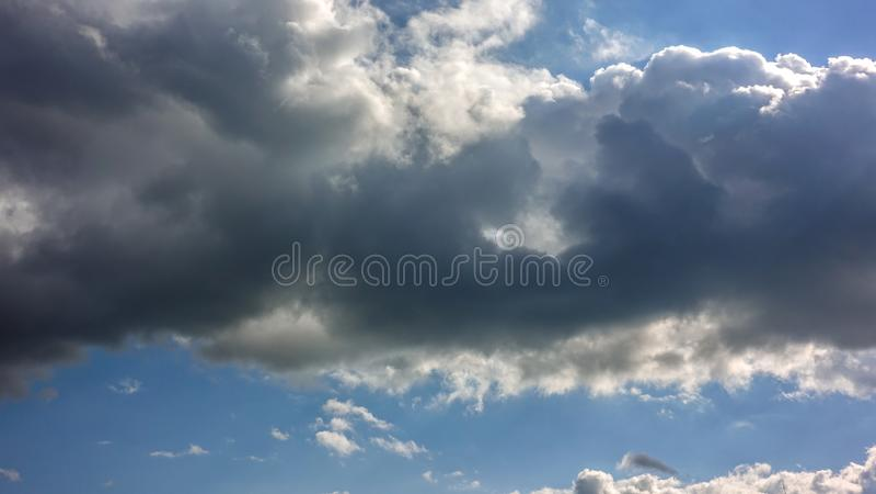 Cloudscape, υπόβαθρο ελευθερίας στοκ εικόνες με δικαίωμα ελεύθερης χρήσης