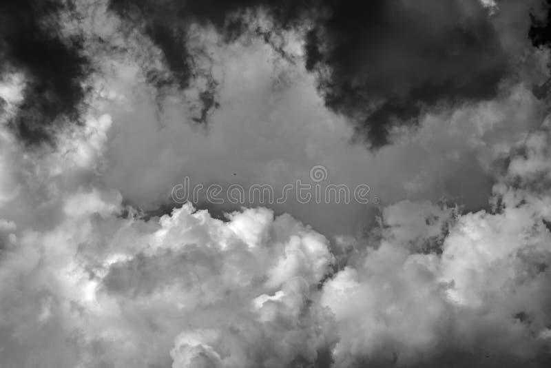 Cloudscape бурных облаков стоковое изображение
