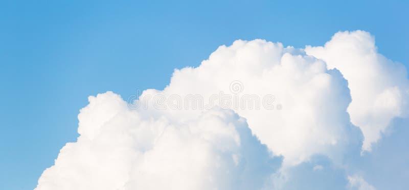Cloudscape水平的横幅 免版税库存照片