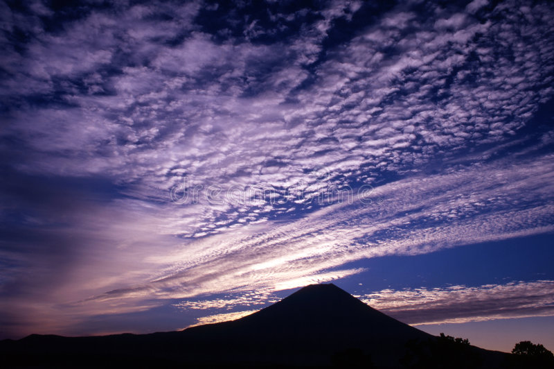 Cloudscape royalty-vrije stock foto