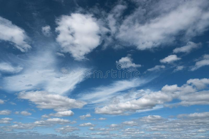 Cloudscape sky cloud blue background nature freedom air scenics day royalty free stock images