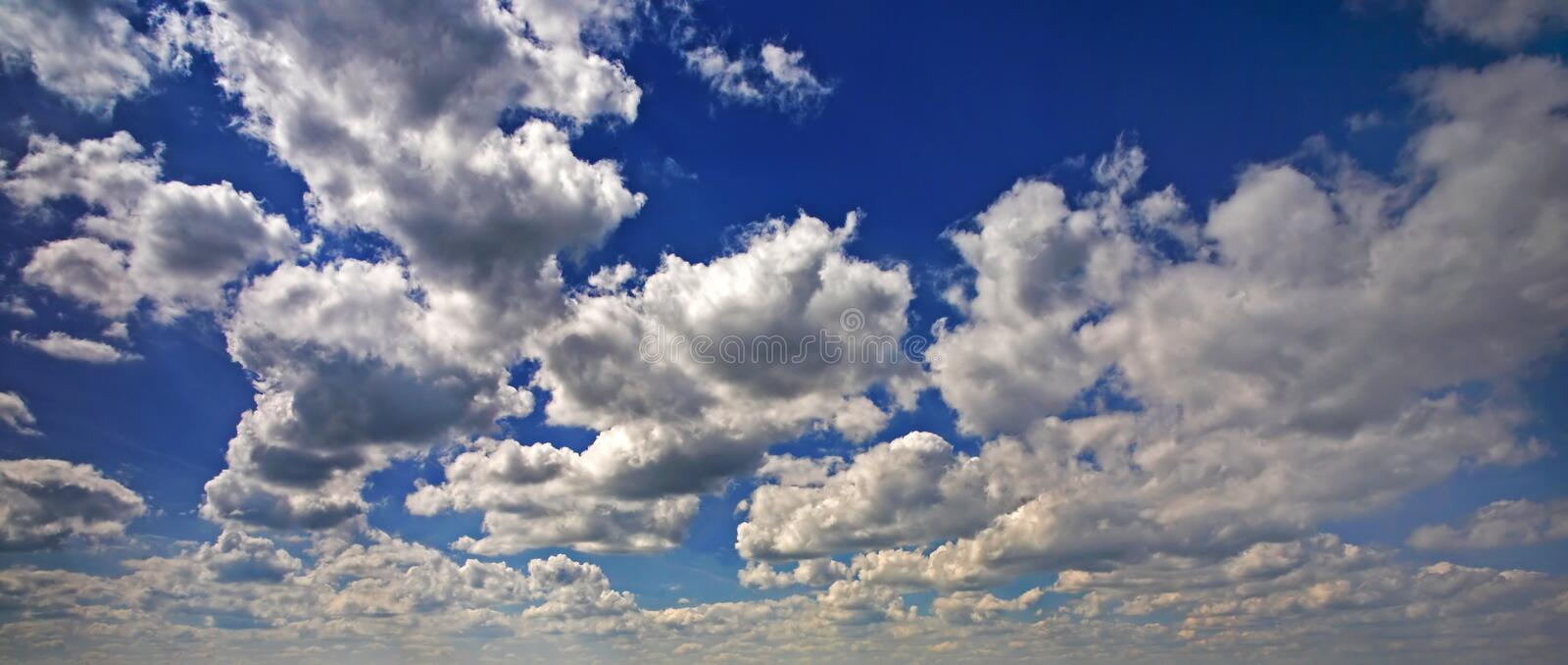 Download Cloudscape stock photo. Image of cloudy, panoramic, blue - 2684676