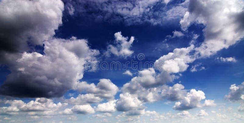 Cloudscape fotografia de stock
