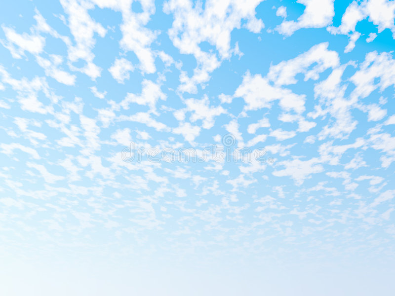 Download Cloudscape stock illustration. Image of weather, blue - 3962480