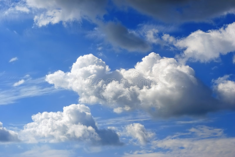 Cloudscape immagine stock libera da diritti