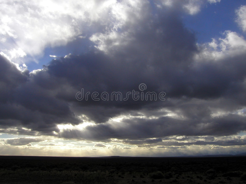 Download Cloudscape stock photo. Image of sunlight, beams, cloudscape - 90604
