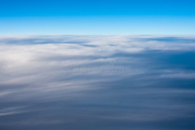 Cloudscape Ansicht lizenzfreies stockbild