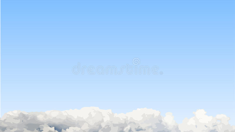 Download Cloudscape background stock image. Image of landscape - 16460243