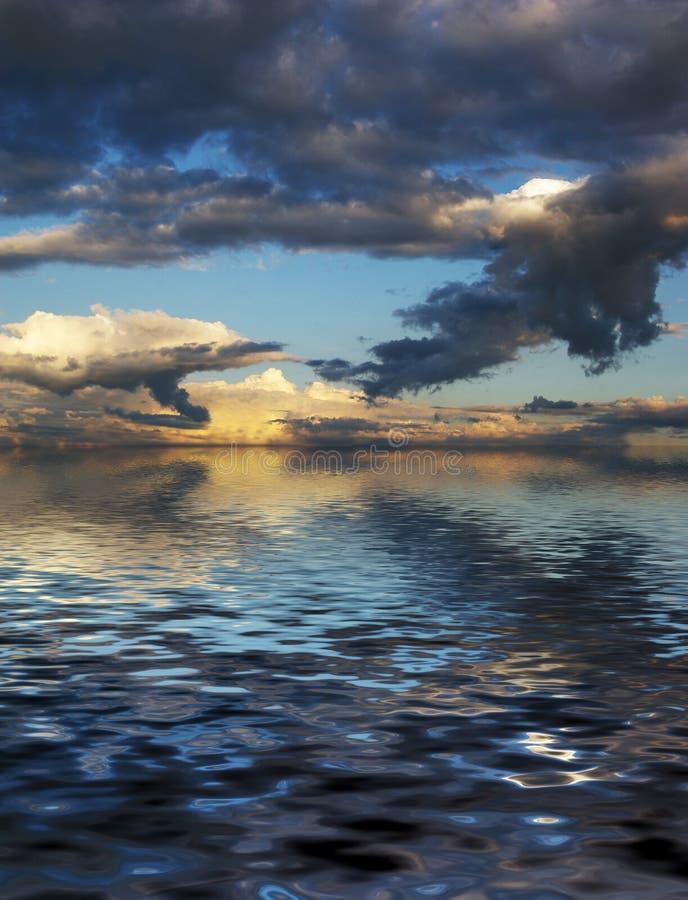 Cloudscape de Beautyful fotografía de archivo libre de regalías