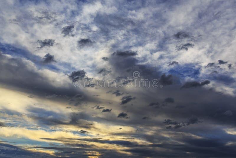 Cloudscape de la tormenta imagenes de archivo