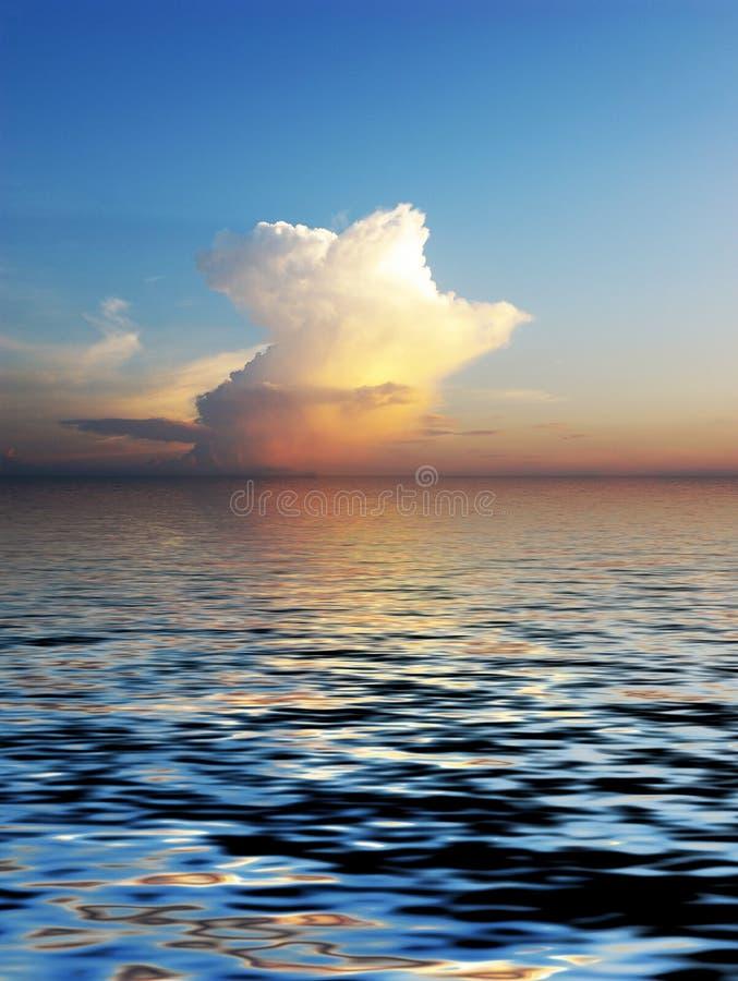 Cloudscape do mistério foto de stock royalty free