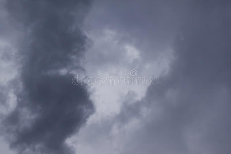 Cloudscape dramático del huracán Matthew imagen de archivo