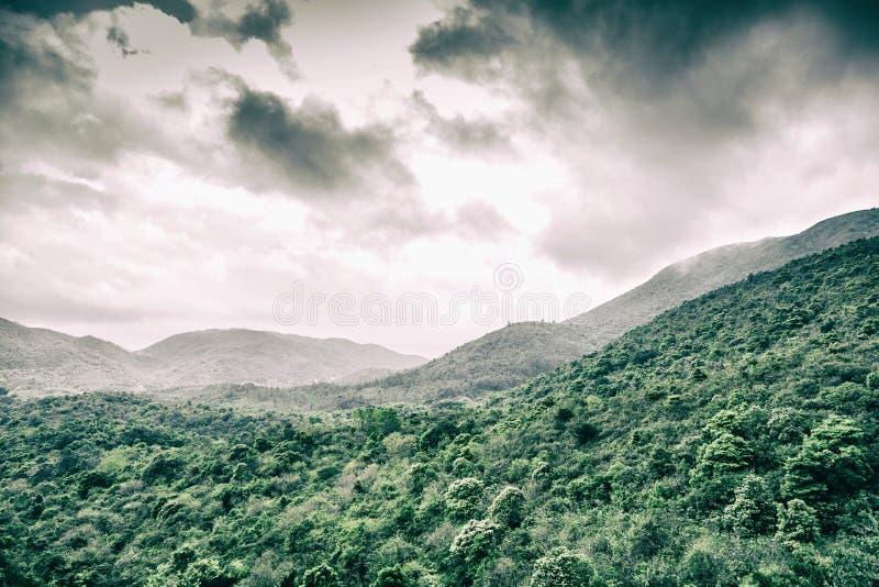 Cloudscape y paisaje imagen de archivo libre de regalías