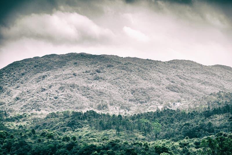 Cloudscape y paisaje fotografía de archivo libre de regalías