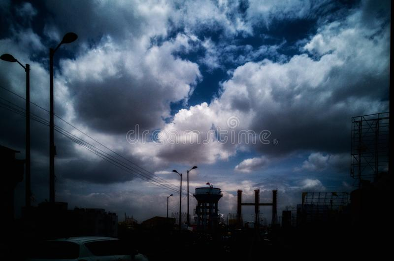 cloudscapes photos libres de droits