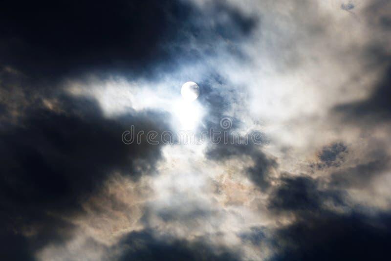 Cloudscapes belamente escuro fotografia de stock royalty free