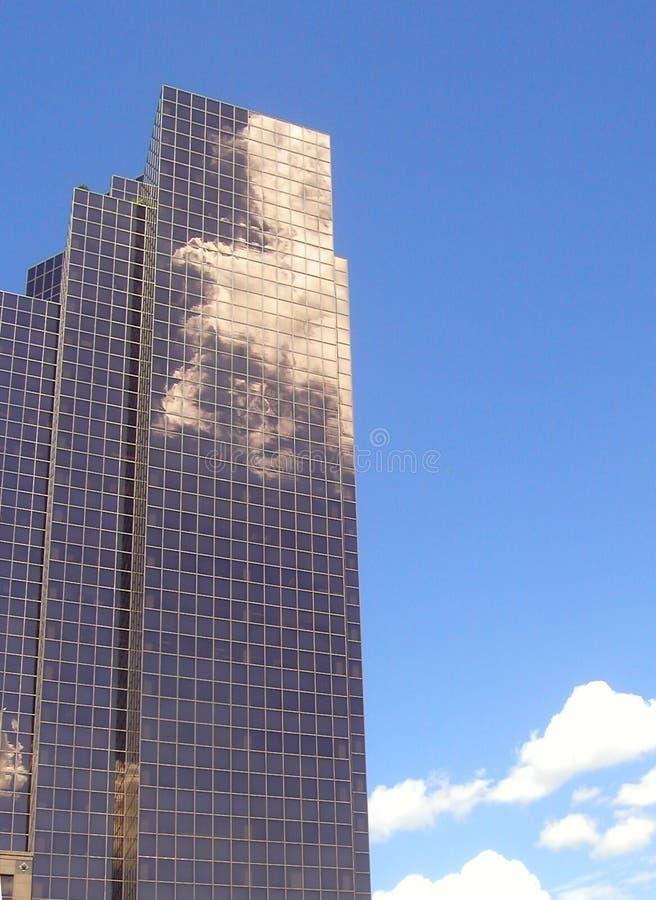 Cloudscraper fotografia stock