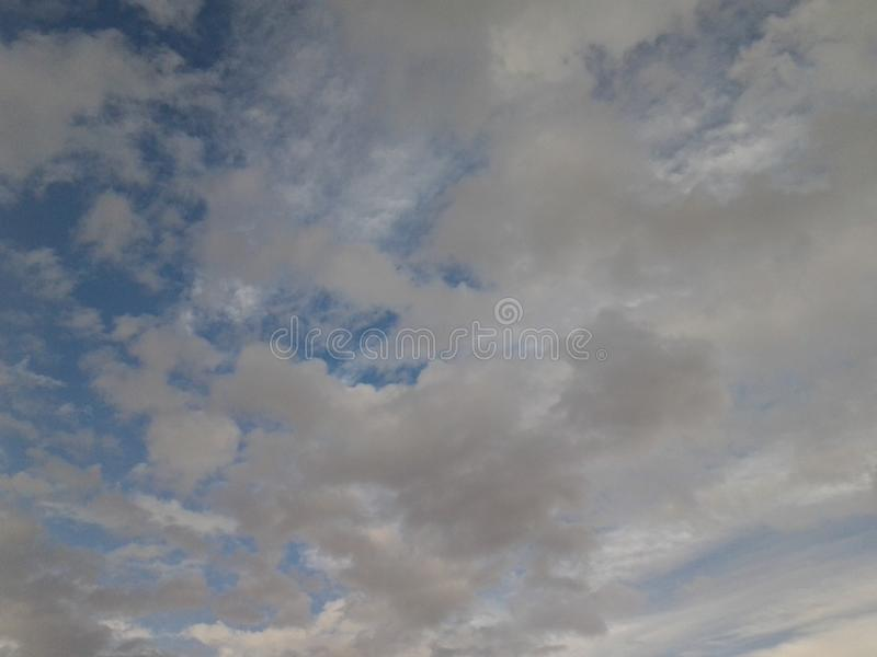 Cloudy afternoon stock photography