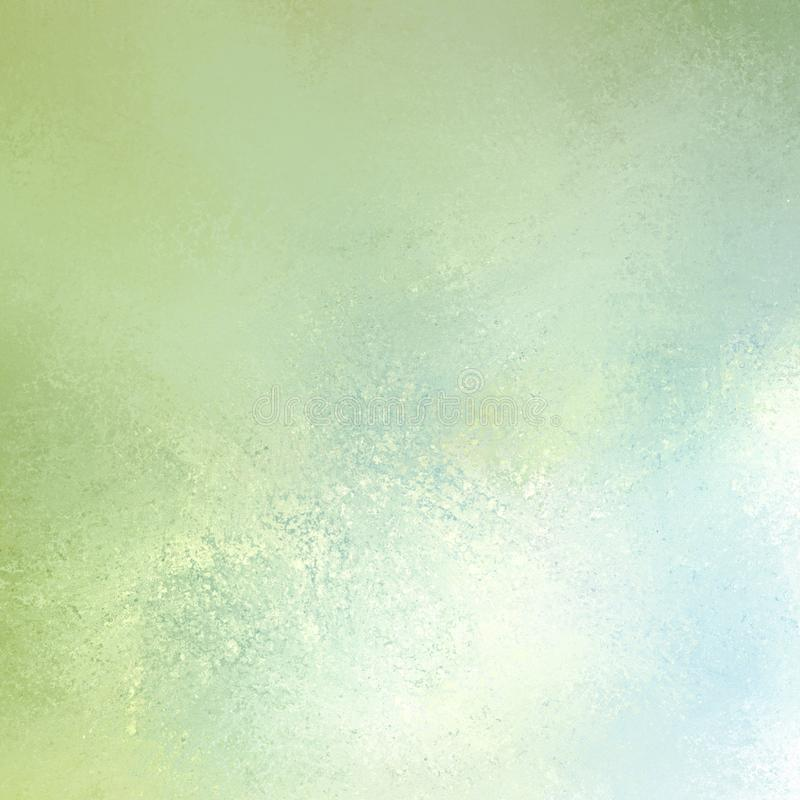 Cloudy blue green and white background, clean fresh colors and sponge grunge texture stock images