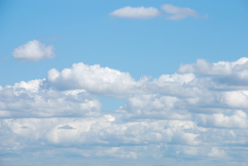 Download Cloudy Blue Sky stock image. Image of space, peace, mood - 2979549