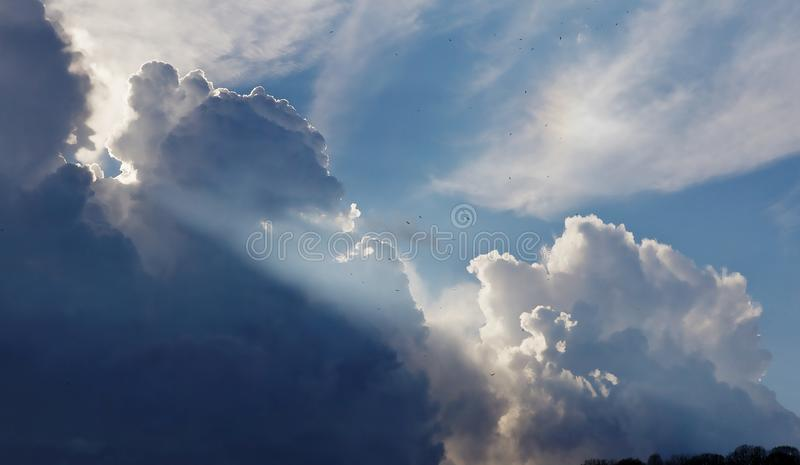 Cloudy Blue Sky During Daytime Free Public Domain Cc0 Image
