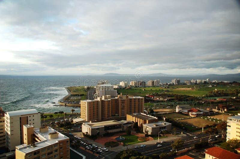 Cloudy Cape Town landscape