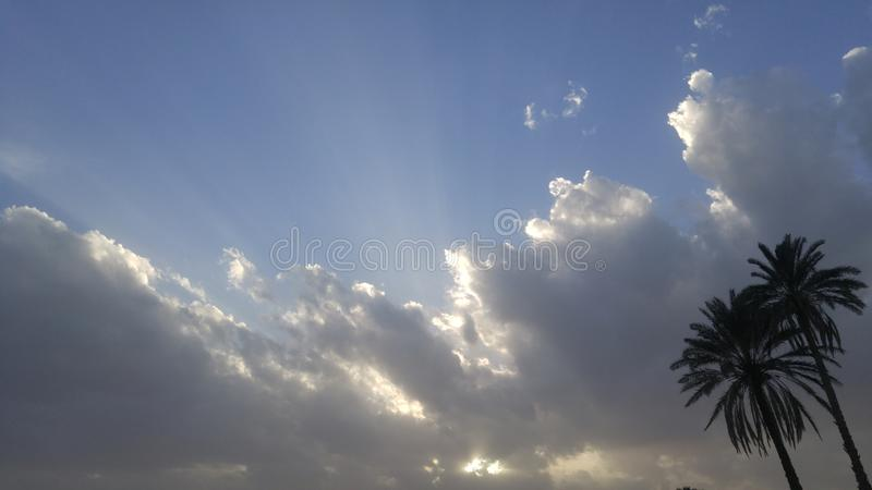 Cloudy royalty free stock images