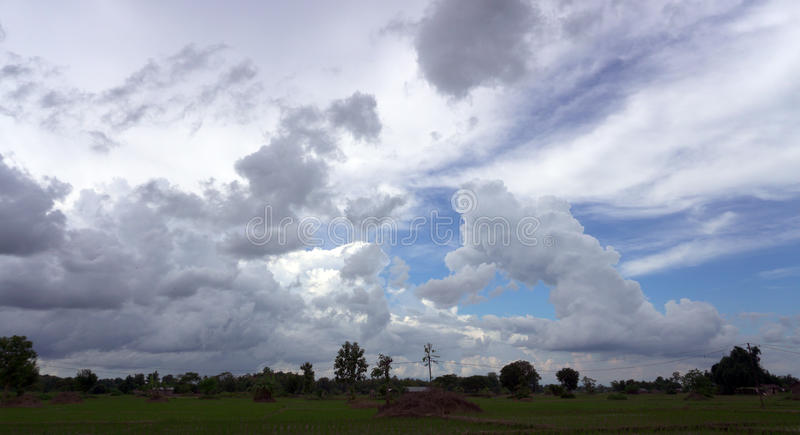 Cloudy royalty free stock image